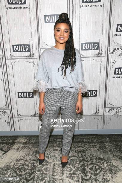 Aisha Dee visits Build Series to discuss her role in the comedy series The Bold Type at Build Studio on June 12 2018 in New York City