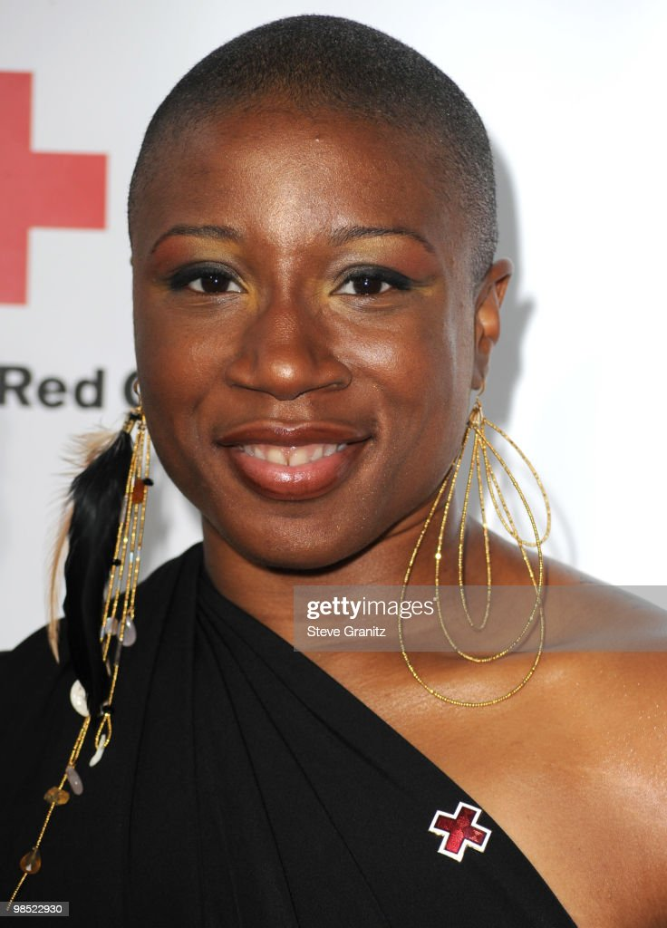 Aisha Hinds attends The American Red Cross Red Tie Affair Fundraiser Gala at Fairmont Miramar Hotel on April 17, 2010 in Santa Monica, California.