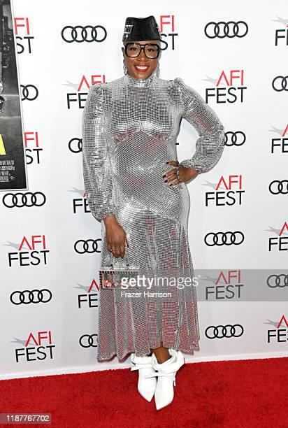 """Aisha Hinds attends the """"Queen & Slim"""" Premiere at AFI FEST 2019 presented by Audi at the TCL Chinese Theatre on November 14, 2019 in Hollywood,..."""