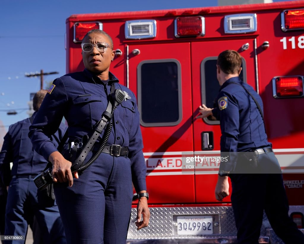 Aisha Hinds in the all-new Point of Origin episode of 9-1-1 airing Wednesday, Jan. 31 (9:00-10:00 PM ET/PT) on FOX.