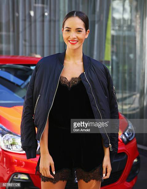 Aisha Jade attends the Holden Spark launch brunch on May 4 2016 in Sydney Australia