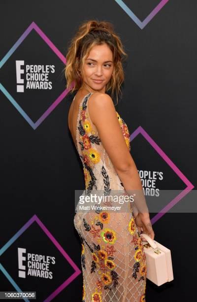 Aisha Jade attends the People's Choice Awards 2018 at Barker Hangar on November 11 2018 in Santa Monica California