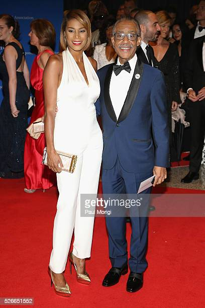 Aisha McShaw and Al Sharpton attend the 102nd White House Correspondents' Association Dinner on April 30 2016 in Washington DC