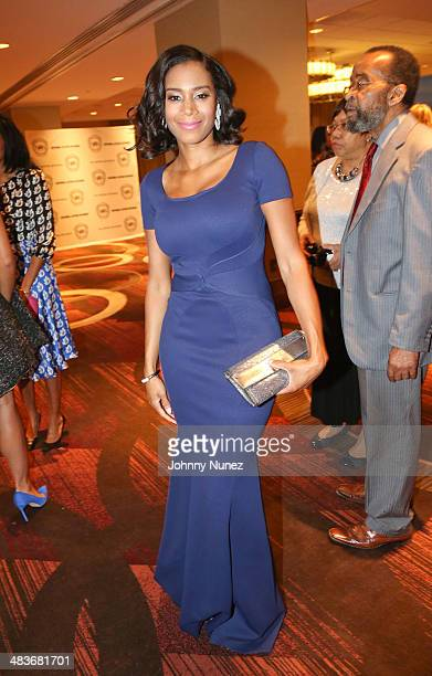 Aisha Mcshaw attends the 2014 National Action Networks' Keepers Of The Dream Awards at Sheraton Times Square on April 9 2014 in New York City