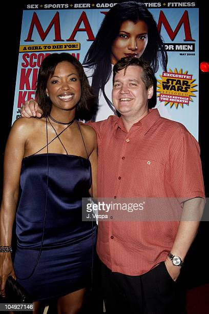 Aisha Tyler and Keith Blanchard EditorinChief of Maxim