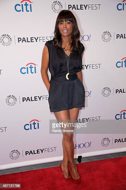 Aisha Tyler at Paley Center For Media on October 12 2014 in New York New York
