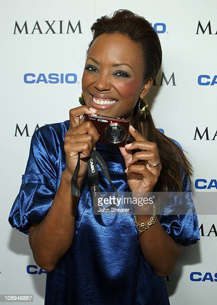 Aisha Tyler at the Maxim Style Awards Presented by Casio at the Avalon on September 18 2007 in Hollywood California