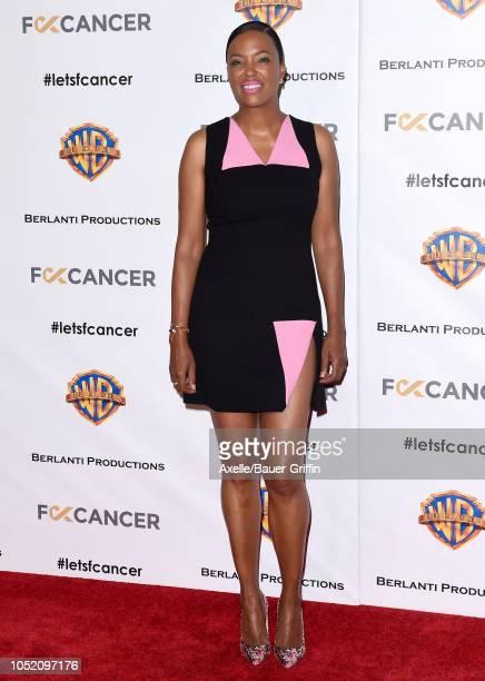 Aisha Tyler attends FCancer's 1st Annual Barbara Berlanti Heroes Gala at Warner Bros Studios on October 13 2018 in Burbank California