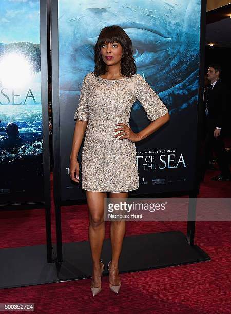 Aisha Tyler attends In The Heart Of The Sea premiere at Frederick P Rose Hall Jazz at Lincoln Center on December 7 2015 in New York City