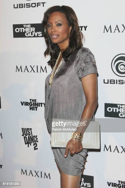 Aisha Tyler attends Maxim Celebrates The Other Guys at Comic Con 2010 Presented by Ubisoft at Hotel Solamar on July 23 2010 in San Diego California