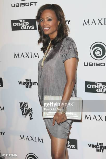 Aisha Tyler attends Maxim Celebrates The Other Guys at Comic Con Presented by Ubisoft at San Diego on July 24 2010