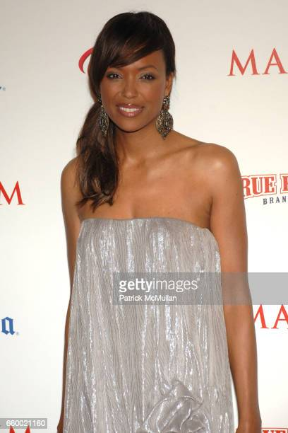 Aisha Tyler attends Maxim's 10th Annual Hot 100 Celebration at The Barker Hangar on May 13 2009 in Santa Monica California
