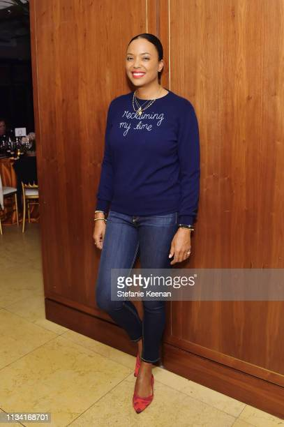 Aisha Tyler attends Screening of Right to Desire Video Short by Funny or Die Hosted By Cindy Eckert at Sunset Tower Hotel on March 06 2019 in West...