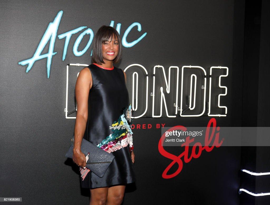 "Stoli Vodka And Universal Studios Host Premiere Of ""Atomic Blonde"", Starring Oscar Award-Winning Actress Charlize Theron"