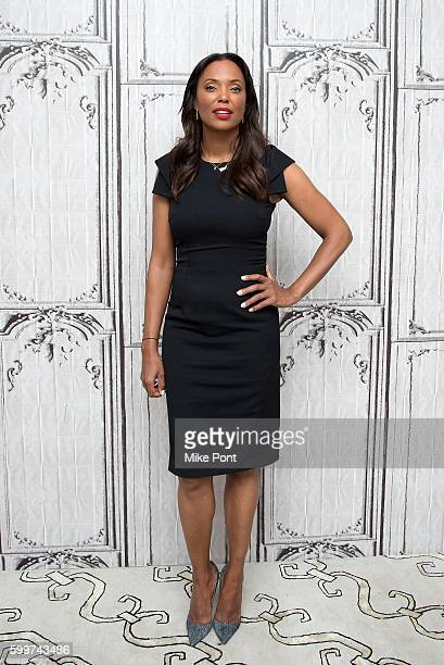Aisha Tyler attends the AOL Build Speaker Series to discuss 'The Talk' at AOL HQ on September 6 2016 in New York City