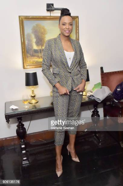 Aisha Tyler attends the Cadillac Oscar Week Celebration at Chateau Marmont on March 1 2018 in Los Angeles California