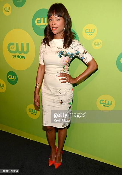 Aisha Tyler attends the CW Network's 2013 Upfront at The London Hotel on May 16 2013 in New York City