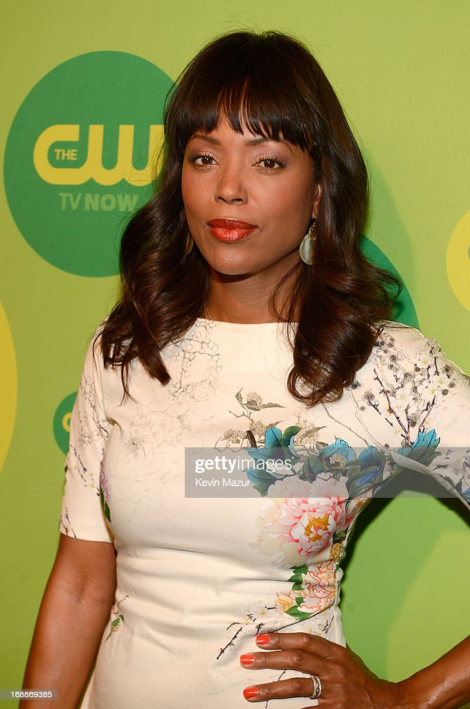 Aisha Tyler attends the CW Network's 2013 Upfront at The London Hotel on May 16, 2013 in New York City.