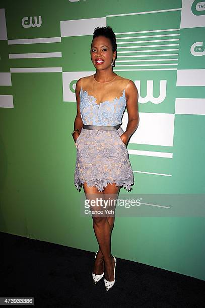 Aisha Tyler attends The CW Network's New York 2015 Upfront Presentation at The London Hotel on May 14 2015 in New York City