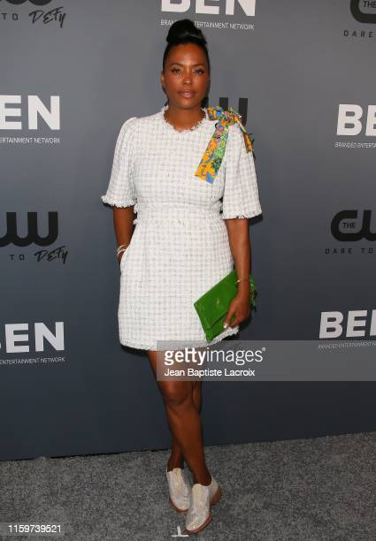 Aisha Tyler attends The CW's Summer 2019 TCA Party sponsored by Branded Entertainment Network at The Beverly Hilton Hotel on August 04 2019 in...