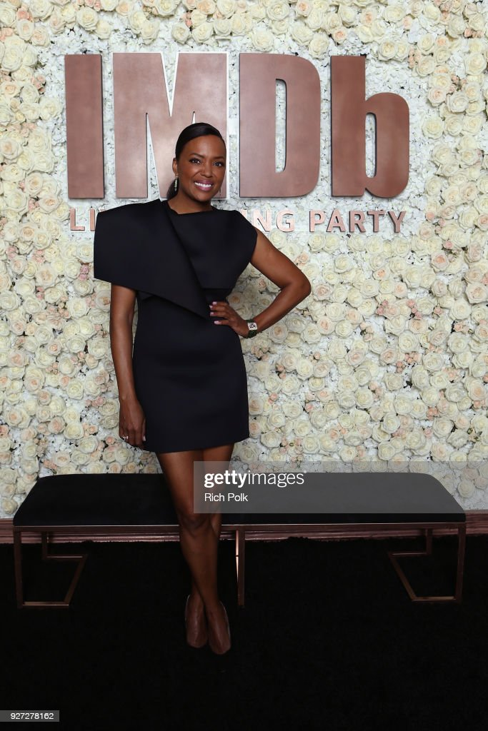 Aisha Tyler attends the IMDb LIVE Viewing Party on March 4, 2018 in Los Angeles, California.
