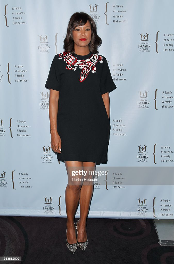 Aisha Tyler attends the Jewish Family Service of Los Angeles 23rd Annual Gala Dinner at The Beverly Hilton Hotel on May 23, 2016 in Beverly Hills, California.