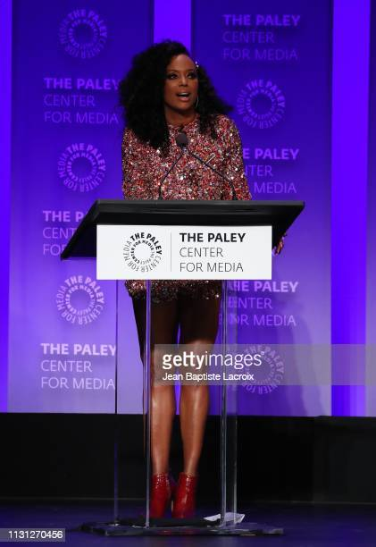 Aisha Tyler attends the Paley Center For Media's 2019 PaleyFest LA RuPaul's Drag Race held at the Dolby Theater on March 17 2019 in Los Angeles...