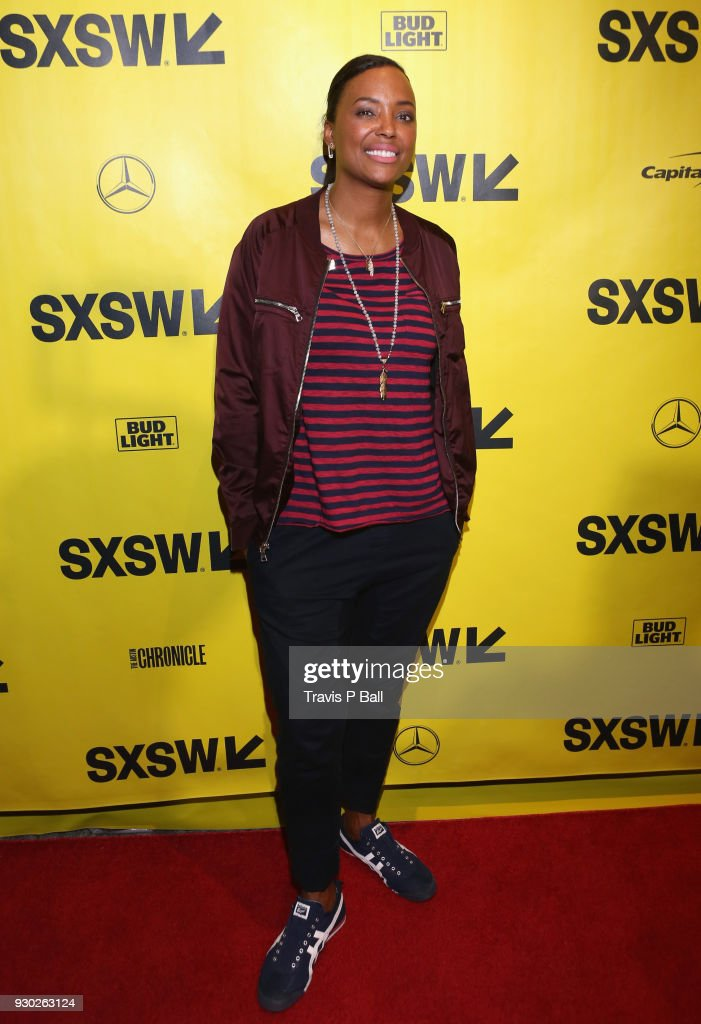 Aisha Tyler attends the premiere of 'Nossa Chape' during SXSW at Stateside Theater on March 10, 2018 in Austin, Texas.