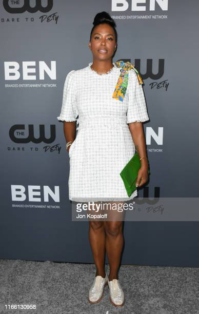 Aisha Tyler attends the The CW's Summer 2019 TCA Party sponsored by Branded Entertainment Network at The Beverly Hilton Hotel on August 04 2019 in...