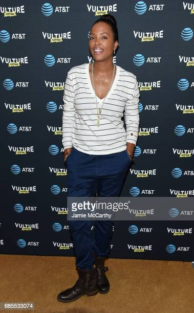 Aisha Tyler attends the Vulture Festival Opening Night Party Presented By ATT at the Top of The Standard Hotel on May 19 2017 in New York City