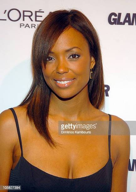 Aisha Tyler during 15th Annual GLAMOUR Women of the Year Awards Red Carpet at American Museum of Natural History in New York City New York United...