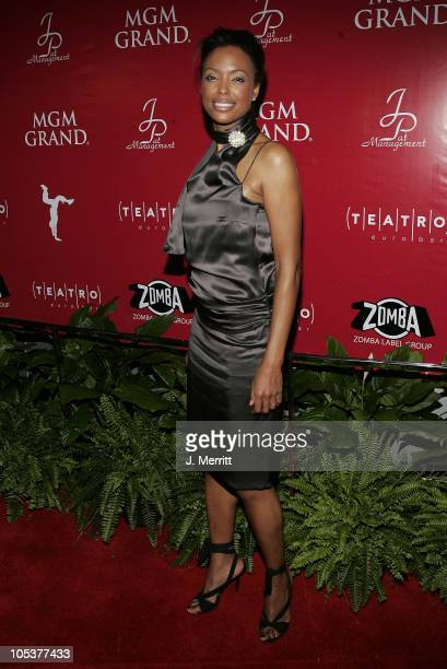 Aisha Tyler during 2004 Billboard Music Awards Teatro Grand Opening Hosted By Usher at Teatro at MGM Grand Hotel and Casino in Las Vegas Nevada...