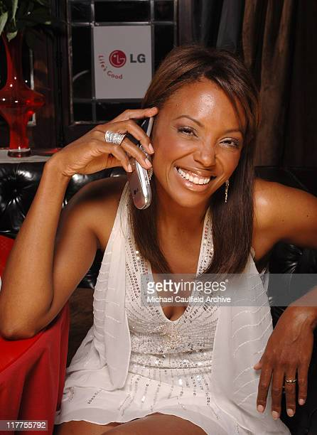 Aisha Tyler during 2005 Stuff Style Awards Portraits at Hollywood Roosevelt Hotel in Los Angeles California United States
