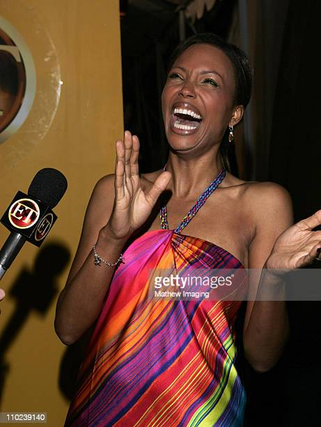 Aisha Tyler during 31st Annual People's Choice Awards Behind the Scenes at Pasadena Civic Auditorium in Pasadena California United States