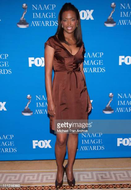 Aisha Tyler during 37th Annual NAACP Award Nominations Press Conference at The Peninsula Beverly Hills in Beverly Hills California United States