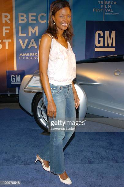 Aisha Tyler during 3rd Annual Tribeca Film Festival General Motors Hosts the Tribeca DriveIn Featuring the Final Episode of Friends at Pier 25 in New...