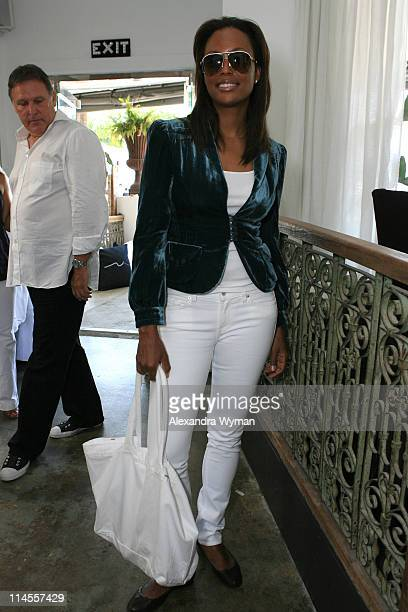 Aisha Tyler during 7 For All Mankind WhiteHot Summer Luncheon Celebrating Summer Whites at SUR in Beverly Hills California United States