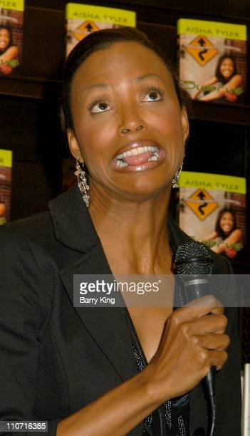 Aisha Tyler during Aisha Tyler In Store Appearance and Book Signing at Barnes Noble The Grove in Los Angeles California United States