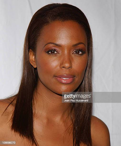 Aisha Tyler during CBS/Paramount/UPN/Showtime/King World 2006 TCA Winter Press Tour Party Arrivals at The Wind Tunnel in Pasadena California United...