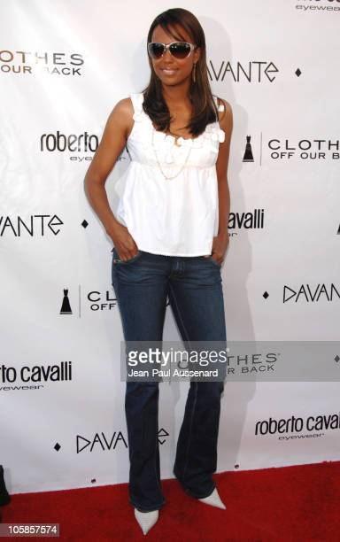 Aisha Tyler during Davante Rodeo Drive Boutique Opening at Davante in Beverly Hills California United States