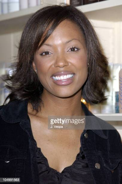 Aisha Tyler during Frederic Fekkai's 'Night of Beauty Jewelry and Fun' to Benefit Hands of Change at Frederic Fekkai Salon in Beverly Hills...