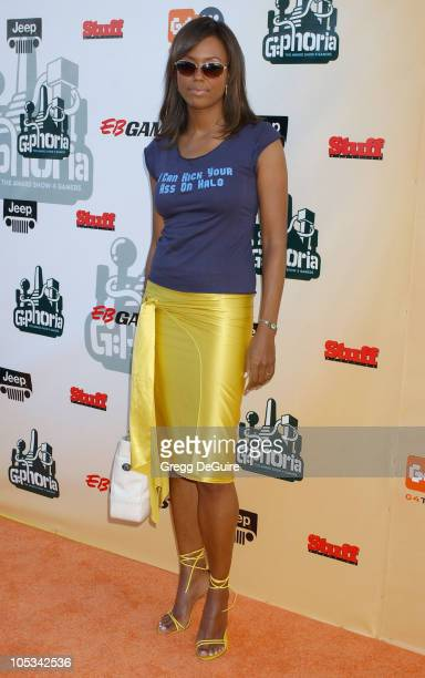 Aisha Tyler during 'GPhoria The Award Show 4 Gamers' at Shrine Auditorium in Los Angeles California United States