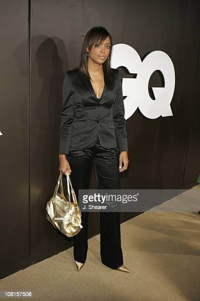 Aisha Tyler during GQ Magazine Celebrates its 2004 Men of the Year Red Carpet at Lucques Restaurant and Ago Restaurant in Los Angeles California...