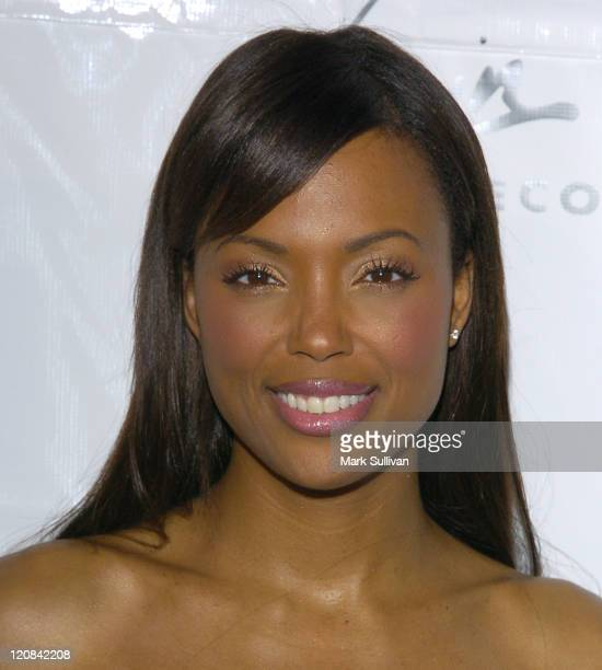 Aisha Tyler during Janet Damita Jo Jackson Celebration PartyArrivals at Morton's in West Hollywood California United States