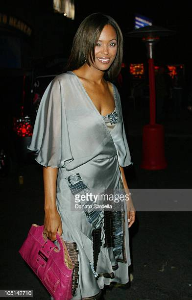 Aisha Tyler during Maxim Magazine Annual 'Hot 100' Party Inside at SoHo in Hollywood California United States
