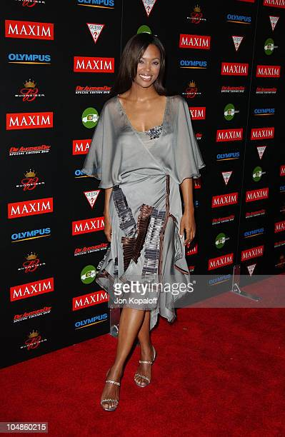 Aisha Tyler during Maxim Magazine's Annual Hot 100 Party at 1400 Ivar in Hollywood CA United States