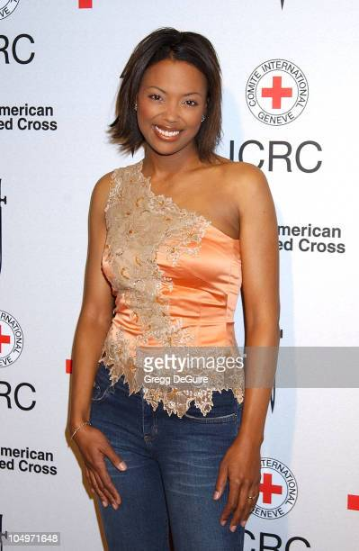 Aisha Tyler during Michel Comte's Benefit and Auction for People and Places With No Name Arrivals at Ace Gallery in Los Angeles California United...