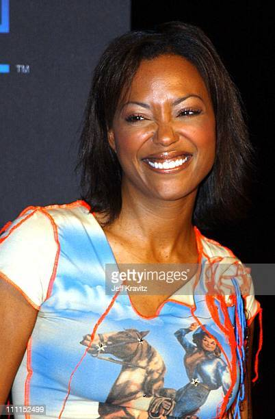 Aisha Tyler during PlayStation 2 Anniversary Party in Los Angeles at St Regis Hotel in Los Angeles California United States