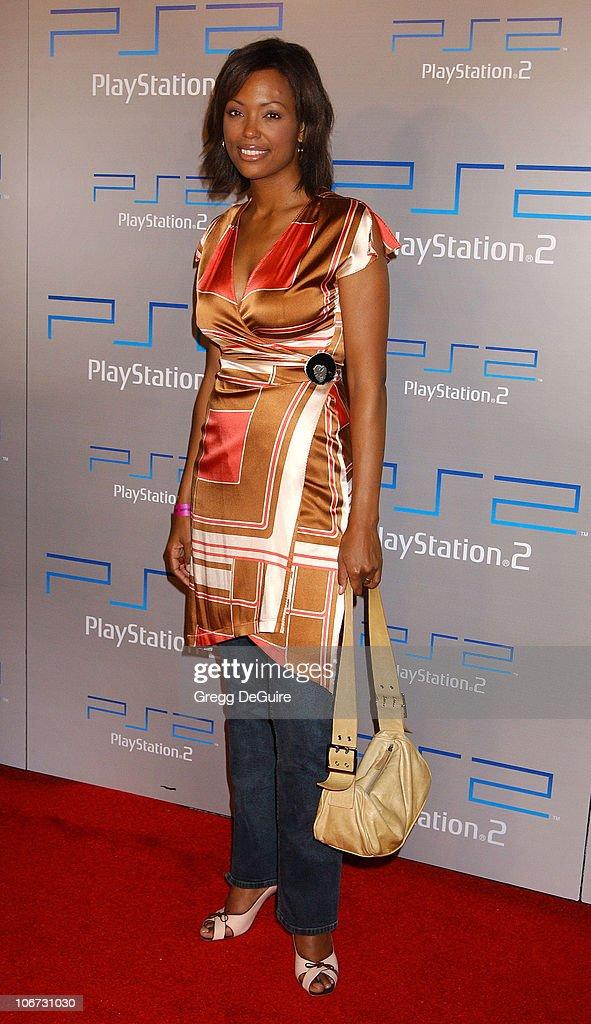 Aisha Tyler during Playstation 2 'Playa Del Playstation' Party at Viceroy Hotel in Santa Monica, California, United States.