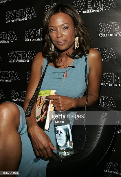 Aisha Tyler during Svedka Vodka Hosts Aisha Tyler's Book Reading of Swerve Reckless Observations of a Postmodern Girl at Monroe's in West Hollywood...